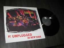 NIRVANA LP  UNPLUGGED IN NEW YORK MINT