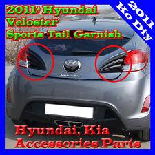 Tail Lamp Sports Garnish Rear Trunk Molding Paint For 2012~2017 Hyundai Veloster