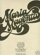 DONOVAN 1973 Promo Poster Ad for MARIA MAGENTA mint!