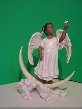 LENOX WISHING ON A STAR ANGEL sculpture NEW in BOX with COA African American