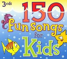 150 Fun Songs for Kids (2 Audio CD Set --- MISSING DISC 1 of 3)