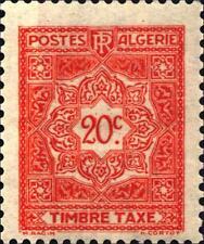 ALGERIA - 1947-1955 - Segnatasse.