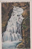 "*New Hampshire Postcard-""White Mountains"" /Crystal Cascade*Tuckermans/ (#195)"