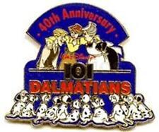 40th Anniversary 101 Dalmatians Roger Anita Maid Puppies Le 3500 Disney Pin