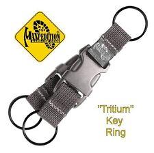 "MAXPEDITION ""TRITIUM"" KEY RING, FOLIAGE GREEN WEBBING, MX1716F"
