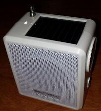 Mini Weather Radio Solar Energy Power FM / AM / WB Band - Outdoor / Crank