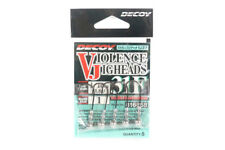 Decoy VJ-31F Jig Head Violence Ball Hook Size 1 , 1/16 oz (6868)
