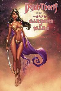 Dejah Thoris Gardens of Mars Softcover Graphic Novel