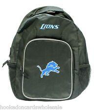Detroit Lions NFL Team Back Pack Backpack