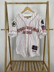 VTG Philadelphia Stars 1933-50 Negro League Pinstripe Throwback Stitch Jersey L