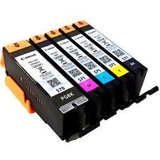 5 Originale SETUP Canon Druckerpatronen PGI-570 CLI-571 für Canon PIXMA