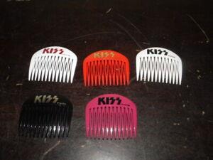 kiss aucoin comb lot 5 piece pieces vintage lady jane australia ransfords