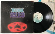 Rush - 2112 - Rare 1976 White Label Promo WLP SRM-1-1079 (NM) Ultrasonic Clean