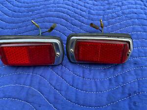 Datsun 280Z Rear Side Marker Lights Left & Right OEM 1978