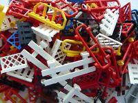 LEGO 50 Zäune Gatter Brüstung Modelle verschieden Sammlung Konvolut City fence