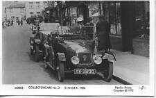 Pamlin repro photo postcard M2003 1924 Singer motor car