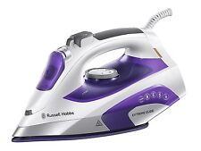 RUSSELL HOBBS 21530 EXTREME GLIDE IRON, 2400 W, WHITE & PURPLE, **BRAND NEW**