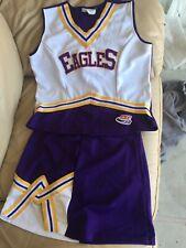 Authentic 2 Piece Cheerleader Uniform Eagles Small