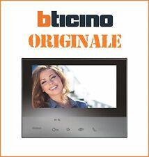 Videocitofono 2 FILI vivavoce colori ORIGINALE Classe 300 bticino mod. 344613