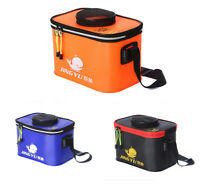 Folding Fishing Bucket Portable Camping Hiking Bucket With Handle Fishing Bags