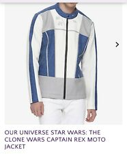 Our Universe Star Wars: The Clone Wars Captain Rex Moto Jacket Medium