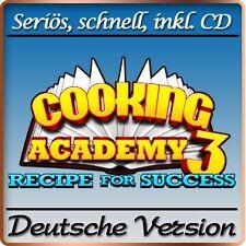 Cooking Academy 3 - Erfolgsrezepte - Recipe for Success Deluxe - PC-Spiel