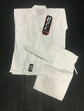 WHITE KARATE GI / UNIFORM - UFC GYM logo