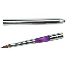 Professional Brush Acrylic Sable Nail Art SIZE 6 Oval for Acrylic Powder Liquid