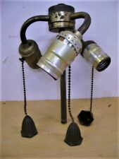 Brass 3 Socket Lamp Cluster