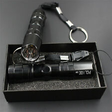 Super Light LED Flashlight Torch Lamp Lantern Hiking Camping USE 1 AA Battery