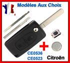 Coque Plip Clé Pour CITROEN C2/C3/C4/C5/C6 2 Boutons CE0523 CE0536 Aux Choix