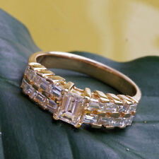 Ring Diamant Baguetten 1.37 ct  TOPWERT IM VORTEIL!750er Gold Wert ca.5.682.-EUR