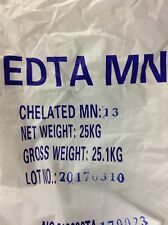 Chelated Manganese EDTA Micronutrient Fertilizer 13% Water Soluble Hydroponics
