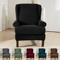 Stretch Wingback Slipcover Recliner Wing Back Arm Chair Sofa Cover Protector USA