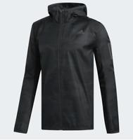 Adidas Men's Running Jacket Response Wind Jacket Carbon 3M- CY5738 Size M, L, XL