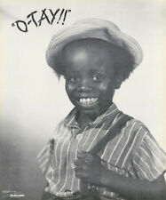 POSTER: MOVIE/TV : BUCKWHEAT - O'TAY - LITTLE RASCALS -  FREE SHIP  #2311 RC26 K