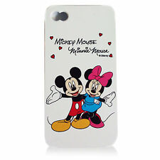 For iPhone 5 5S Minnie & Mickey Mouse Disney Flexible Silicone Fitted Case Cover