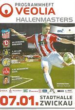 Hallenmasters 2012 in Zwickau mit Lok Leipzig+Dynamo Dresden+FSV Zwickau+Plauen
