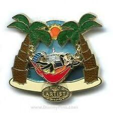Disney Pin: DIsney Cruise Line DCL Artist Choice September 2006 Goofy In Hammock