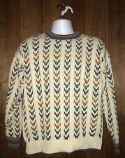 Vintage Salty Dog Gant Men's Medium Multicolor Long Sleeve Pull Over Sweater