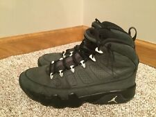 97660acc6b9 Air Jordan 9 Anthracite Basketball Shoes 302370-013 Size 9 USED