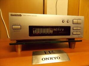Onkyo EQ-205 Stereo Graphic Equalizer EQ Audio Deck Home Component Japan ER Used