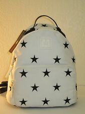 Tommy Hilfiger Sport Training Star Canvas White Black Small Backpack Bag $88