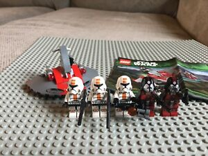 LEGO Star Wars Republic Troopers vs. Sith Troopers (75001) w Manual