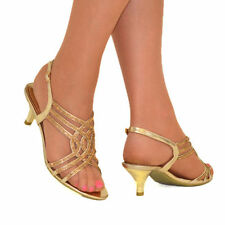 Party Standard (D) Unbranded Synthetic Upper Heels for Women