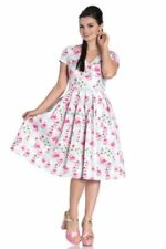 Hell Bunny V-Neck Retro Dresses for Women