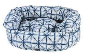 Bowsers Pet Luxury Cushioned Microvelvet Double Donut Dog Bed