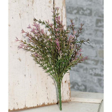 "Lavender Asparagus 13"" Bush - Artificial Flower Accent"