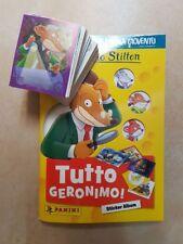 Panini Le Grandi raccolte per la Gioventù: Alles Geronimo-Album + compl. Jeu