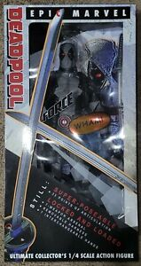"""NECA Reel Toys 1/4 scale 18"""" X-FORCE Deadpool Factory Sealed MIB"""
